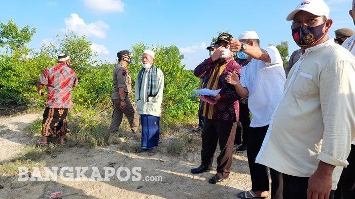 Tanah TPU Ampui Tergerus Aktivitas TI, Gubernur Bangka Belitung: Kita Ingin Mengembalikan Fungsinya