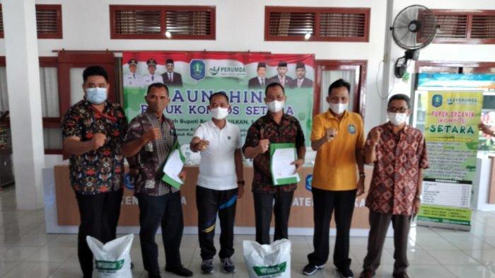 Perumda Alam Launching Pupuk Kompos Setara, Bupati Bangka Siap Tambah Modal Bila Berhasil