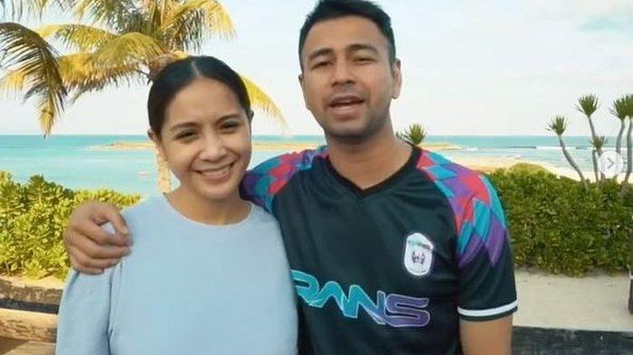 Raffi Ahmad dan Nagita Slavina saat sedang berlibur ke Pulau Dewata