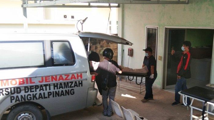 Lemari Pendingin RSUD Depati Hamzah Rusak, Jenazah ABK Kapal Tanker Dipindahkan ke Rumah Duka