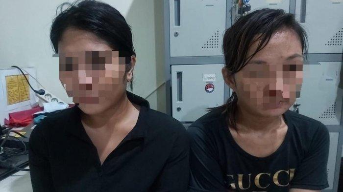 Dua Ibu Rumah Tangga Ditangkap Tim Kalong Polres Pangkalpinang, Simpan 0,59 gram Narkoba Jenis Sabu