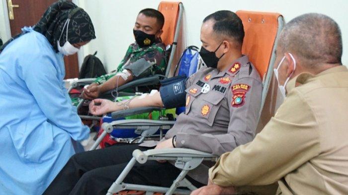 Polres Pangkalpinang Targetkan Kumpul 100 Kantong Darah Akan Disumbangkan ke PMI