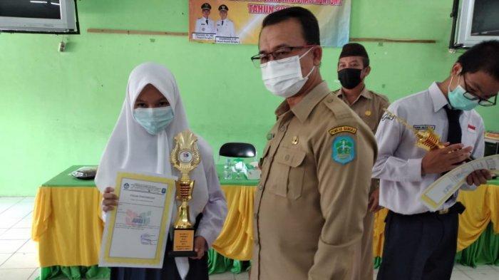 Shanaz, Irsa dan Jessica Juarai KSN SMP 2021 Kabupaten Bangka