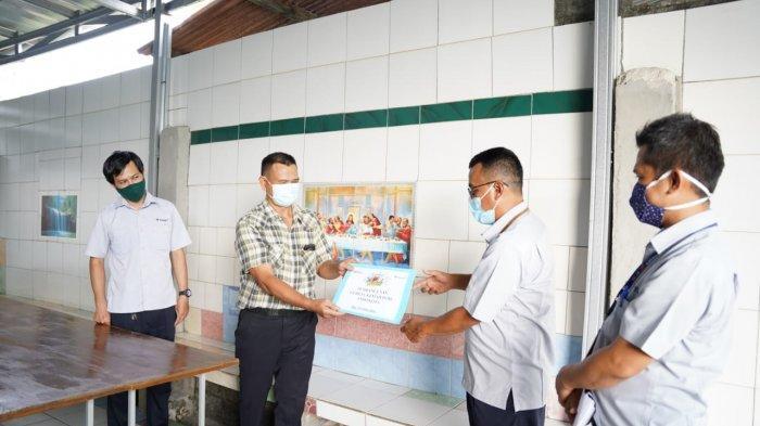 PT Timah Serahkan Bantuan Pembangunan Gereja Kemah Injil Indonesia