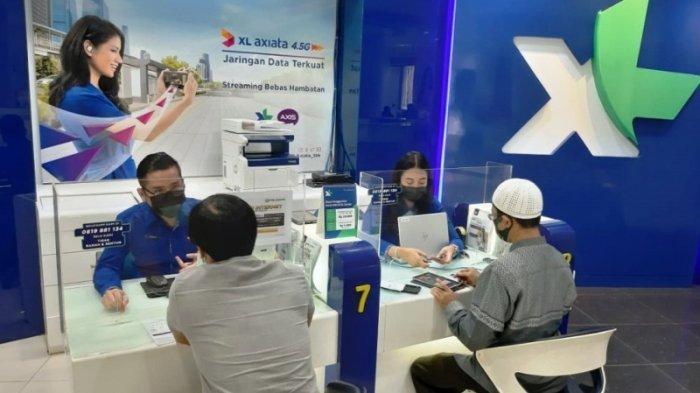 XL Axiata Kerja Sama Bank BCA Permudah Pelanggan Beli Paket Data