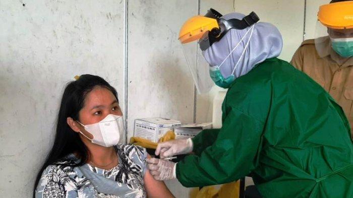 Sehari 4.709 Orang Divaksin, Capaian Vaksinasi di Bangka Belitung Lampaui Target Harian