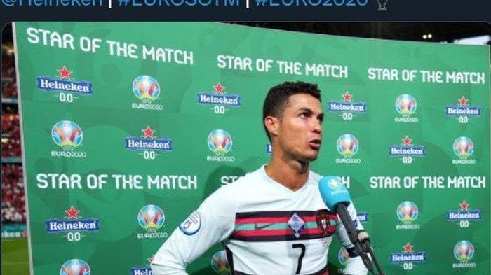 Cristiano Ronaldo Marah Saat 4 Pemain Timnas Jerman Minum Coca Cola Usai Kalahkan Portugal di EURO