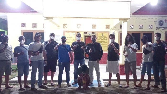 Buron Empat Bulan, Tersangka Pencurian Mesin Perahu Ditangkap Polisi di Tempilang Bangka Barat