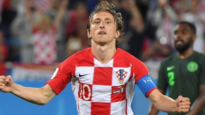 EURO 2020 Luka Modric Makin Tua Semakin Enerjik, Pahlawan Kroasia Susul Inggris Lolos 16 Besar