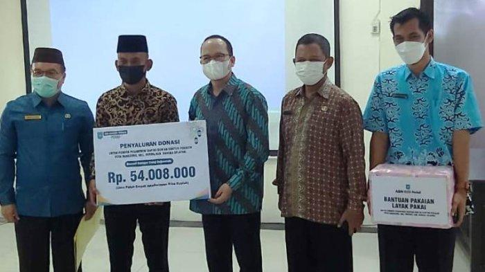 ASN dan Honorer Bangka Tengah Kumpul Donasi Rp 54 Juta untuk Ponpes Tahfiz Quran Desa Ranggung