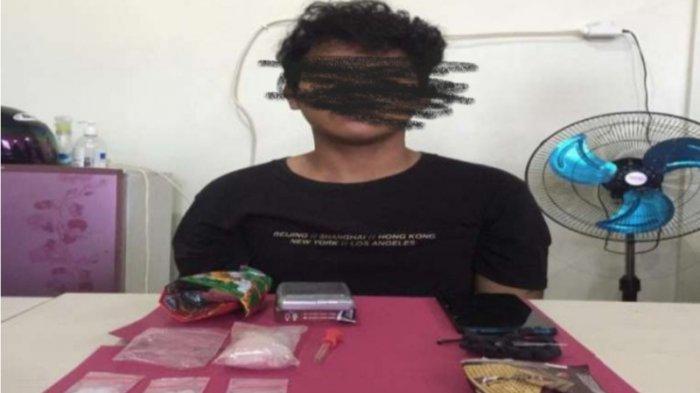 Mahasiswa di Pangkalpinang Tertangkap Transaksi Narkoba Mengaku Jaringan Lapas, Simpan Sabu di WC