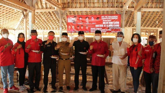 Haul ke-51 Bung Karno, Rudi Center dan PDIP Bangka Belitung Gelar Syukuran Bersama Anak Yatim