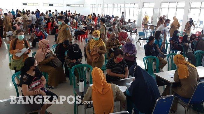 Begini Kondisi Vaksinasi bagi Pelaku Wisata, Travel dan Restoran di Kabupaten Bangka