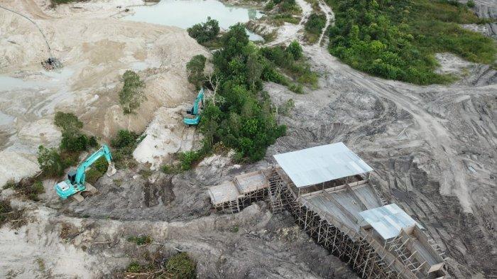 Selamatkan Aset, PT Timah Lakukan Pengamanan Wilayah dari Aktivitas Tambang Liar Tak Berizin