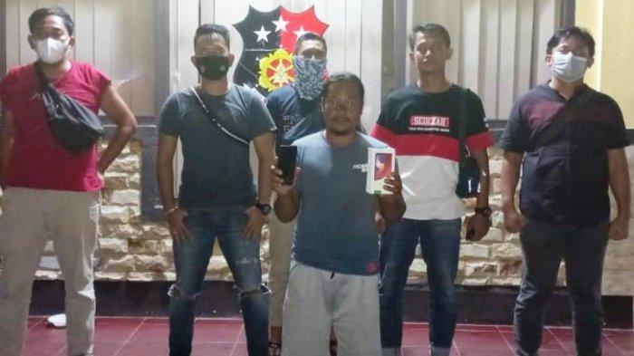 Tiga HP Hilang di Pantai Sumur Tujuh, Satu Ditemukan di Lubuk Besar, Polisi Tangkap Penadah