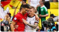 Jerman Bungkam Portugal di Euro 2020, Ini yang Diungkapkan Toni Kross kepada Ronaldo