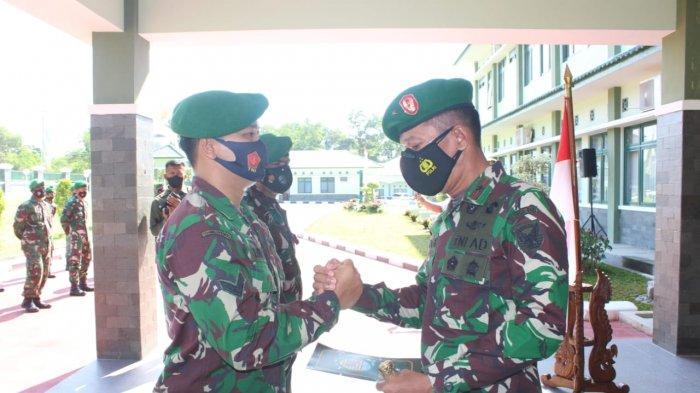 Brigjen M Jangkung Melepas Personil Penebalan Satgas Teritorial ke Kodam XVIII/Kasuari