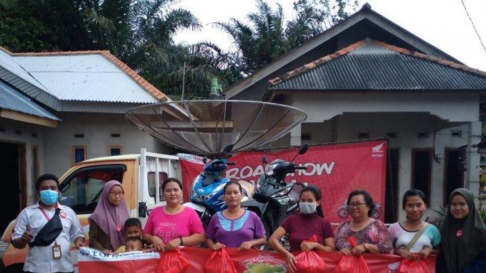 Honda TDM Kelapa, CSR Miobil Kanvasing di Dendang