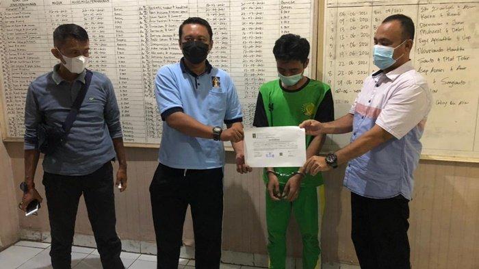 Tim Kalong Polres Pangkalpinang Periksa Napi di Lapas Narkotika Diduga Terlibat Peredaran Sabu