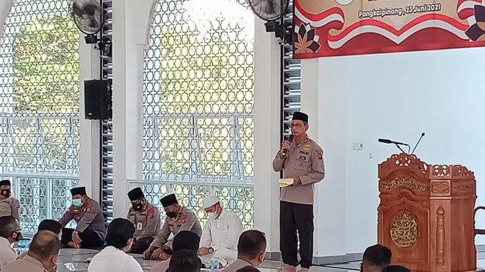 Polda Bangka Belitung Gelar Zikir dan Doa Bersama dalam Rangka HUT ke-75  Bhayangkara