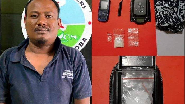 Hazil Dibekuk dengan BB 10,94 Gram Sabu di Kampung Sekip Kecamatan Belinyu