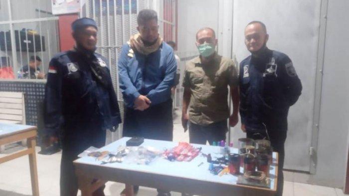 Petugas Temukan Puluhan Barang Terlarang Saat Razia Blok WBP Lapas Narkotika Pangkalpinang
