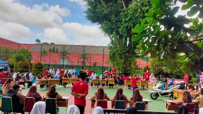 Lomba Debat - PT Asia Surya Perkasa Main Dealer Bangka Belitung gelar Honda OSIS challenge di SMA Negeri 1 Pangkalpinang (24/06)