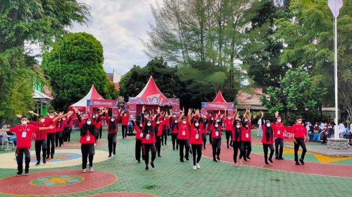 PT Asia Surya Perkasa Main Dealer Bangka Belitung gelar Honda OSIS challenge di SMA Negeri 1 Pangkalpinang (24/06).