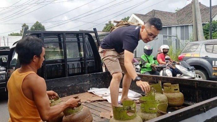Raup Untung Puluhan Juta Rupiah, Tiga Pengoplosan Gas Subsidi ke Tabung 12 Kg Ditetapkan Tersangka