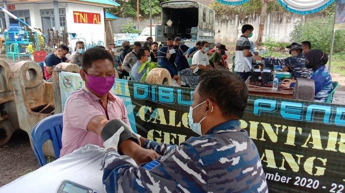 Serbuan Vaksin Hari ke Empat Sungailiat Capai Angka 1500 Orang