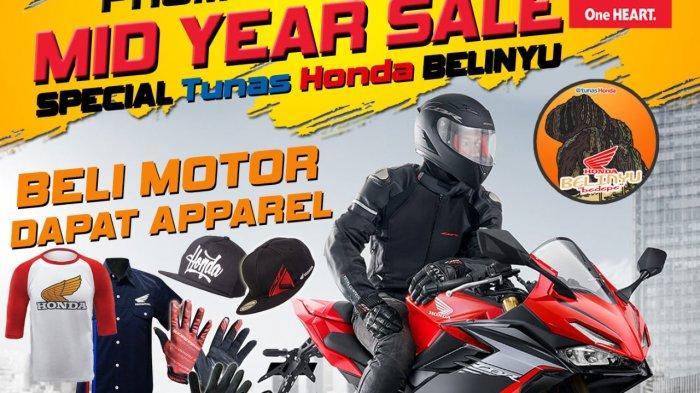 Beli Motor Honda dapat Aparel Original Honda, Hanya di TDM Belinyu