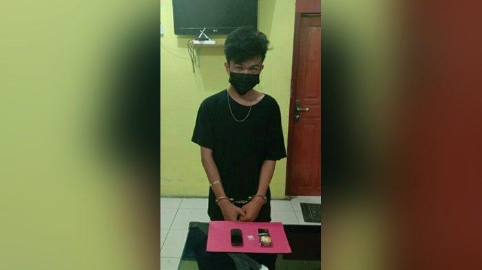 Pengedar Sabu Ditangkap Polres Bangka Barat, AN Dapatkan Sabu dari Lapas Narkotika Pangkalpinang