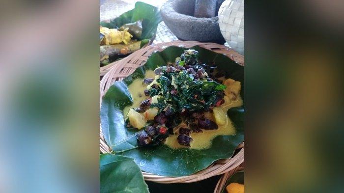 Masakan Khas Belitung Dicooking Class BP Belitong UNESCO Global Geopark, Wisatawan Suka Ini - 20210630-tekuyong-masakan-tengkuyong-peres-masak-lemak.jpg