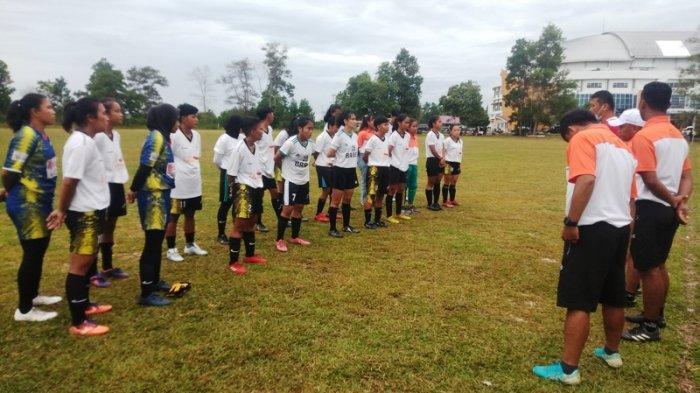 Tim Sepak bola Putri Bangka Belitung Khusus PON 2021.