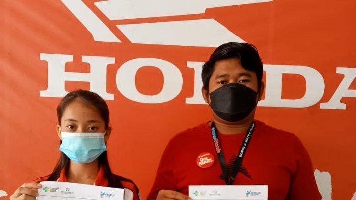 Karyawan Dealer Tunas Honda Toboali Sudah Vaksin