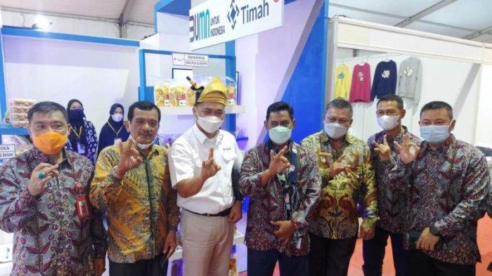 PT Timah Kirimkan Empat Mitra Binaan Meriahkan Belitong Expo 2021 HJKT ke-183