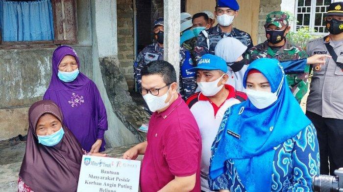 Nenek Sumiati Warga Toboali Bersyukur Usai Rumahnya yang Rusak Dihantam Puting Beliung Diperbaiki