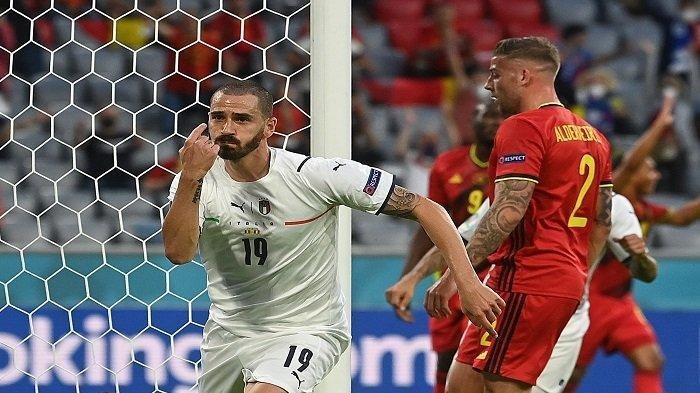 Highlight Hasil Euro 2021 Tadi Malam, Penalti Penghibur Bagi Belgia, Italia dan Spanyol ke Semifinal