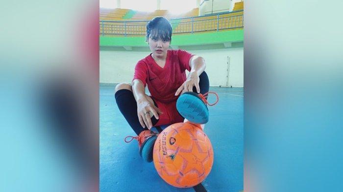 Masuk Timnas, Atlet Cantik asal Pangkalpinang Siap Perkuat Tim Sepakbola Putri Babel di PON 2021