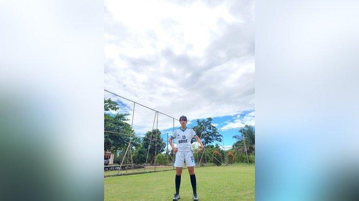 Umi Rosida Ningsih (27), Atlet Sepakbola Putri Bangka Belitung Untuk PON 2021