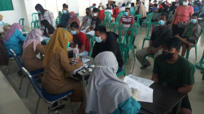 Rindu Sekolah, Anak di Bangka Belitung Ini Antusias Ikut Vaksinasi