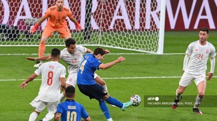 Hasil Euro 2021 Italia Vs Spanyol Tadi Malam, Azzurri ke Final dan 4 Hal yang Perlu Diketahui