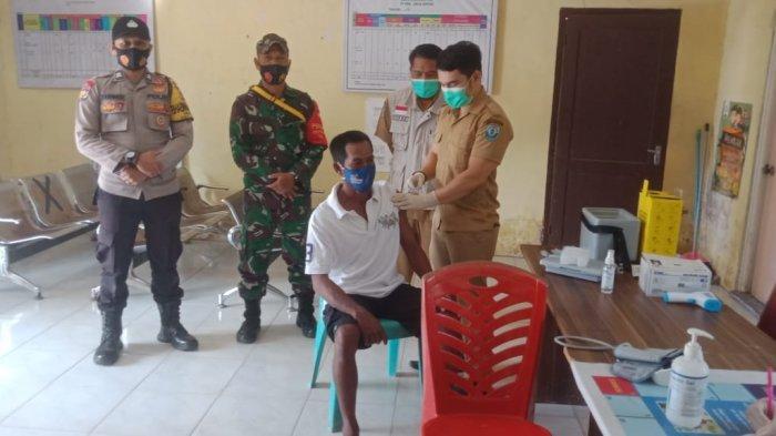 Puskesmas Toboali Terus Lakukan Vaksinasi Covid-19 Kepada Masyarakat Umum, Hari Ini di Desa Bikang