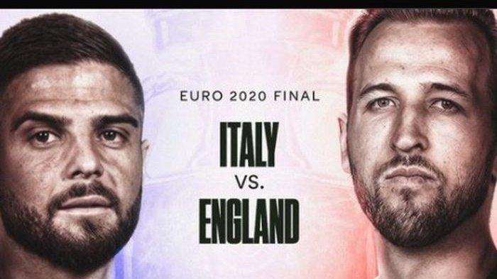 Prediksi Juara Piala Eropa 2021 Inggris Vs Italia: Preview, Head to Head dan Perkiraan Skor