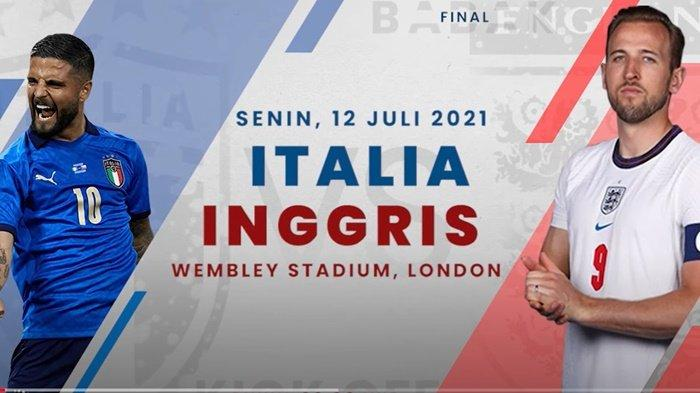 Head to Head Final EURO 2021, Federico Chiesa vs Luke Shaw dan Jorginho vs Mason Mount