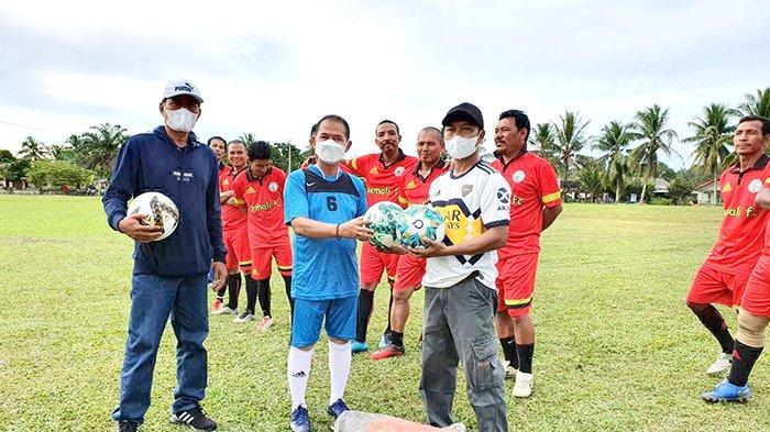 Bupati Mulkan Ajak Masyarakat Giatkan Sepakbola, Olahraga di Pandemi Covid-19 Tingkatkan Imun Tubuh