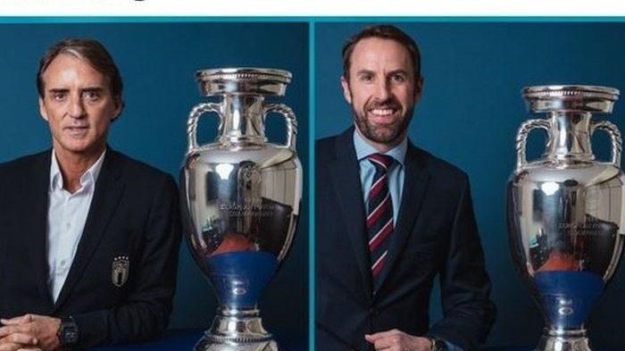 Siapa Juara EURO 2021 Inggris Vs Italia di Final Serta Akankah Adu Penalti? Simak Prediksi Skornya