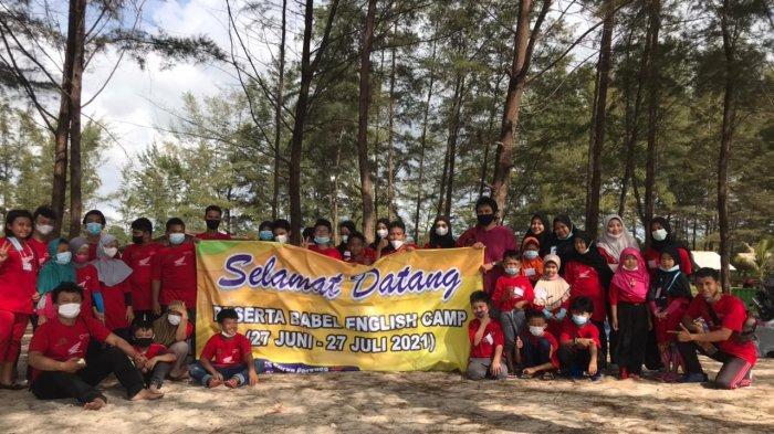 Kampoes Inggris bersama Sekolah Alam Bangka Belitung Gelar English Camp Pertama di Bangka Belitung