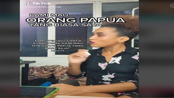 Model Asal Papua Olva Alhamid curhat di tolak rumah produksi karena dinilai terlalu cantik