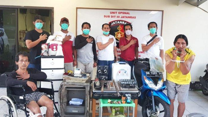Petualangan Yayat Residivis Spesialis Curat Berakhir di Tangan Jatanras Polda Bangka Belitung